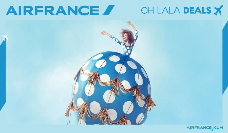 OH LALA! Air France akció!